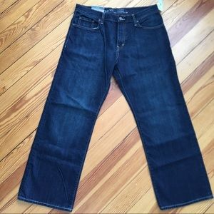 Men's OLD NAVY loose fit jeans 34x30 NWT